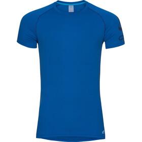 Odlo Active F-Dry Light Logo Crew Neck SS Shirt Men energy blue